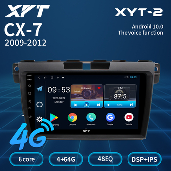 XYT For Mazda CX7 CX-7 CX 7 ER 2009 2010 2011 2012 Car Radio Multimedia Video Player Navigation Android Bluetooth 2din 2 Din Dvd image