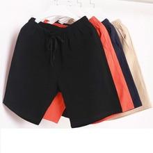 Bermuda masculina de algodão, calção casual e da moda, verão, calções esportivos plus size para homens, 2020 shorts com bermuda