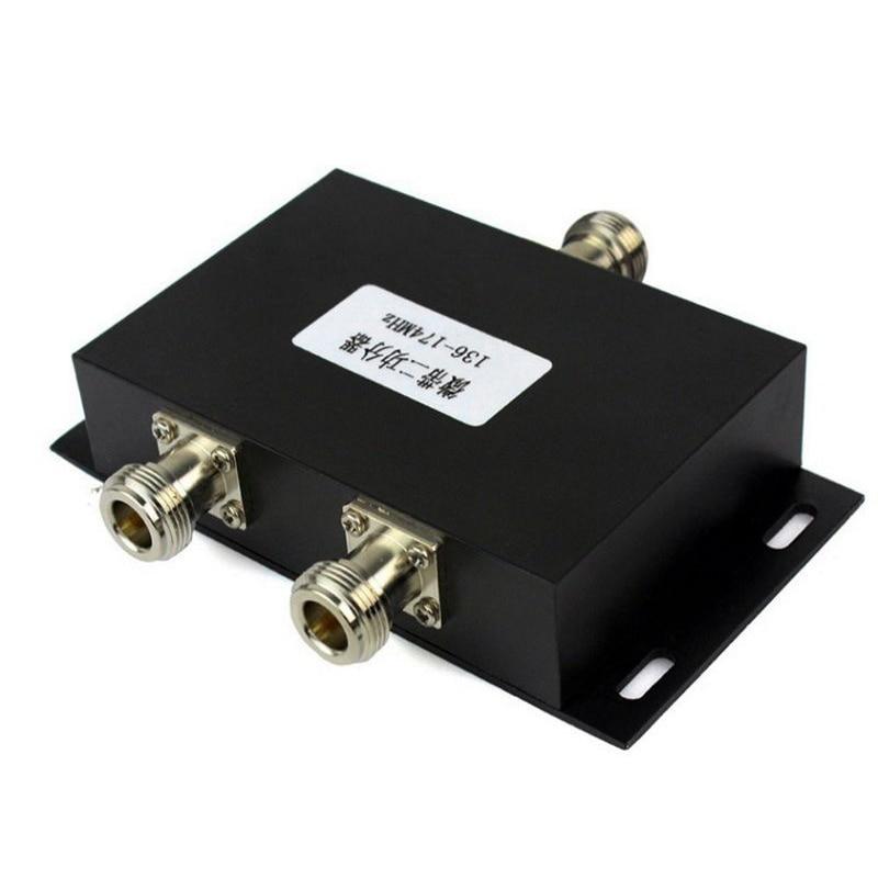 2 Way VHF 136-174MHz Antenna Power Divider Splitter For Radio Repeater Power
