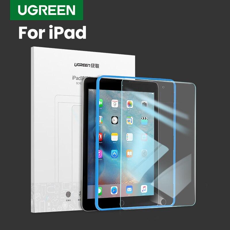 Ugreen pour iPad protecteur d'écran en verre pour iPad 2018 Air Pro 2018 9.7 pouces protecteur d'écran pour iPad verre protecteur d'écran
