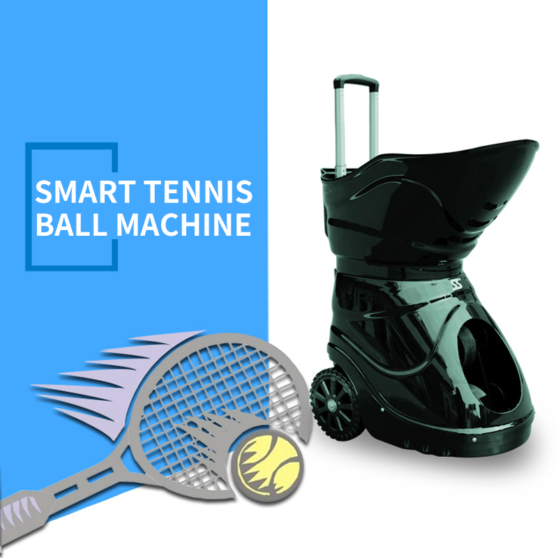 Tennis Ball Machine Sparring Intelligent Remote Control Tennis Trainer Training Machine Self-study Tennis Equipment Exercise Hot