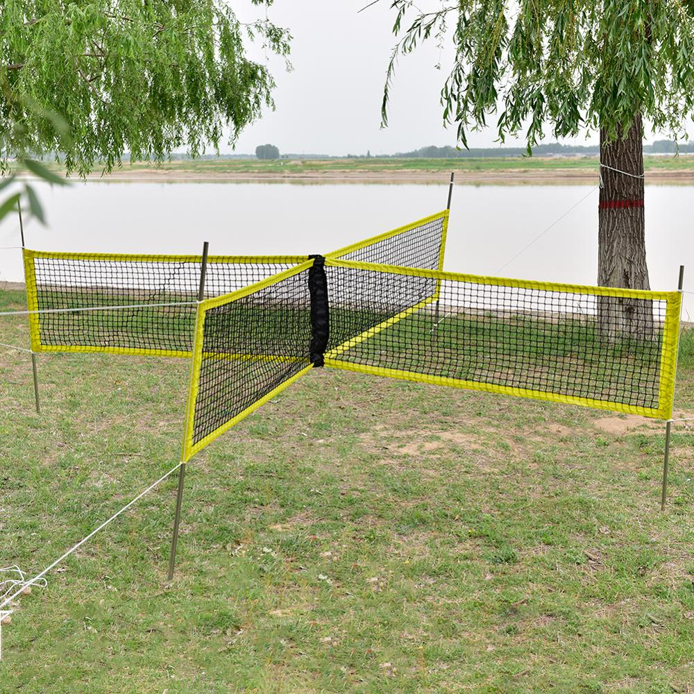 1.5x0.5m Professional Volleyball Net Outdoor Sports Standard Tennis Badminton Training Square Mesh Drop Shipping