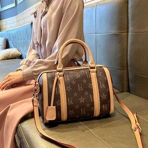 2020 Новая модная Большая вместительная Бостонская женская сумка, Диагональная Сумка через плечо, специальная роскошная женская сумка через ...