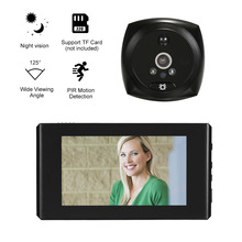 Door Eye Peephole Lcd-Screen Monitor Video-Door-Viewer Motion-Detection PIR