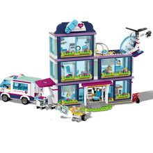 Heartlake City Park Love Hospital Friends Livi's Pop Star House 41135 Girls Building Blocks Compatible legoinglys city Friends t(China)
