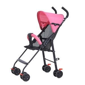 Image 2 - 2019 תינוק עגלת סופר אור וקל לנשיאה תינוק עגלת מתקפל ויושב