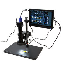 Видеомикроскоп Мобильный телефон обслуживание микроскоп регулируемый