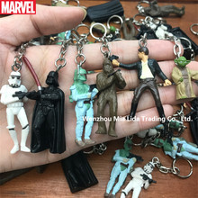 Hasbro Movie Periphery Star Wars Black Warrior and White Soldier Toy key buckle knapsack hanging accessories
