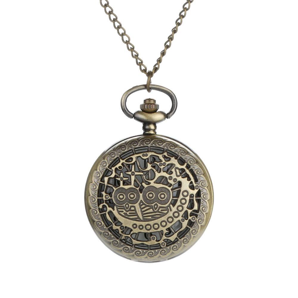 Personalized Pattern Steampunk Vintage Quartz Roman Numerals Pocket Watch Watch Clock Wholesale Relogio De Bolso #4D31