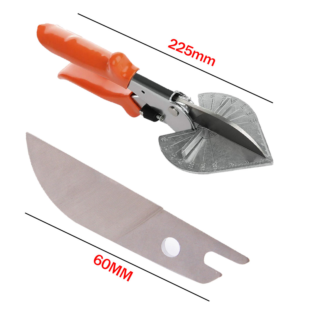 Universal Durable Multi Angle Miter Shear  Miter Cutter Tool 45 To 135 Degrees