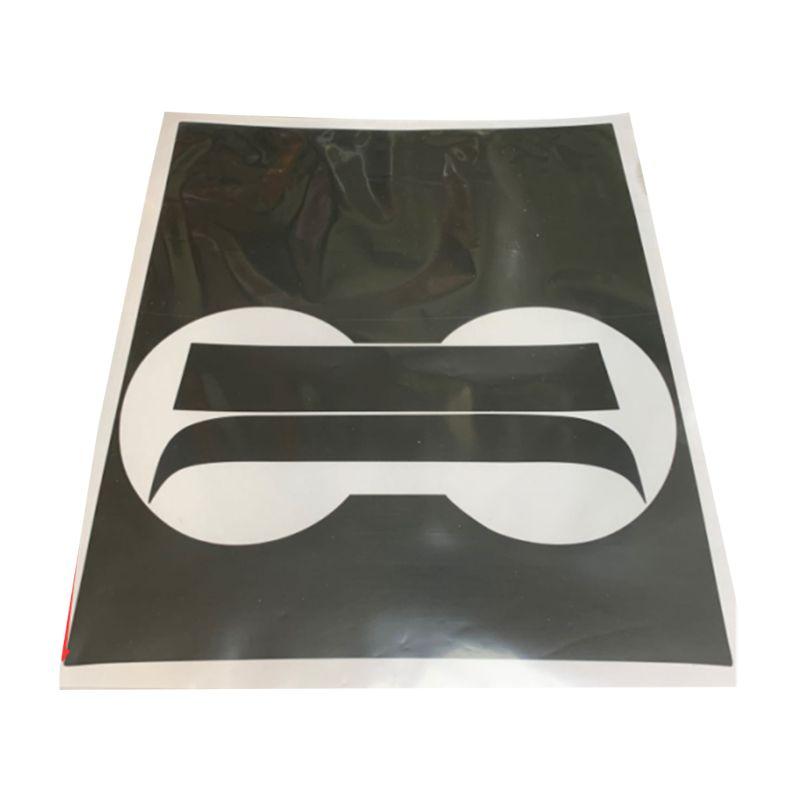 Car Anti-fingerprint Center Console Stickers Wrap Carbon Fiber Decorative For Model 3 Panel Protection Scratch-resistant
