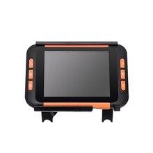 3,5 дюймов lcd портативное видео Цифровое увеличительное стекло низкое видение электронное чтение вспомогательное электронное визуальное устройство(штепсельная Вилка европейского стандарта