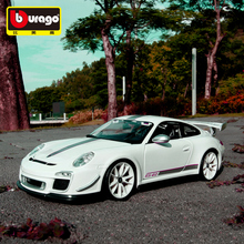 Bburago 1:18 Porsche 911 GT3  car alloy model simulation decoration collection gift toy Die casting boy