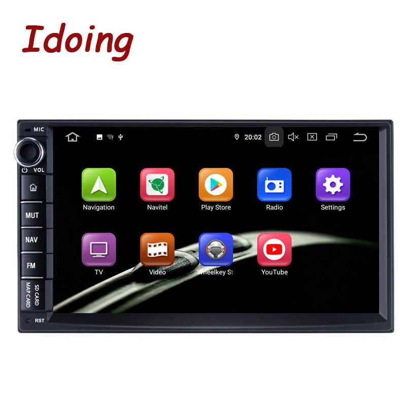 "Idoing 7 ""Universele Octa Core 2Din Auto Android 9.0 Radio Multimedia Speler PX5 4G Ram 64G Rom gps-navigatie Ips Scherm Tda 7850"