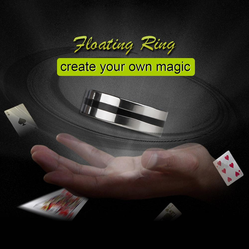 Funny Magic Ring Levitation Suspension Ring Magic Floating Ring Magic Trick Props Halloween Party Magic Stage Performance Toy