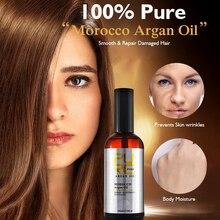 11,11 чистое марокканское масло для волос аргановое масло мягкие блестящие волосы питательное Глубокое восстановление поврежденные сухие эластичные волосы уход 100 мл
