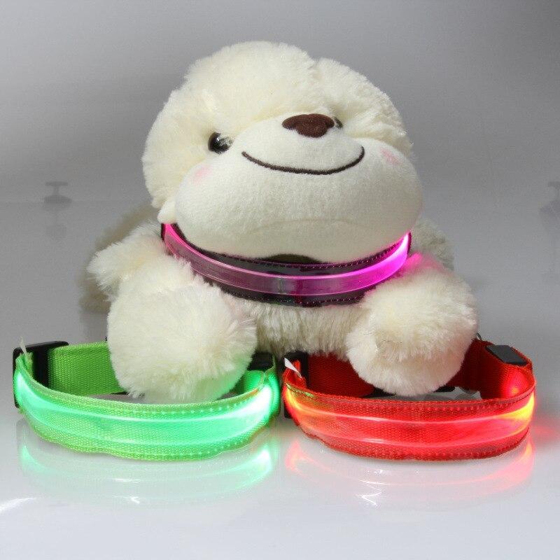 Pet Supplies Dog Luminous Collar-LED Collar Teddy Golden Retriever Medium And Small Dogs Night Light Neck Ring