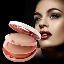 Long-lasting waterproof concealer dual-use brightening oil control does not remove makeup moisturizing white foundation