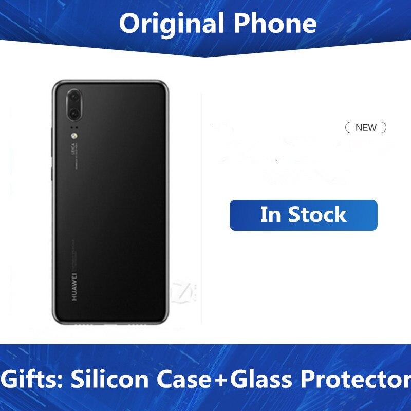 """Internationale Versie Huawei P20 EML-L29 4G Lte Smart Telefoon Kirin 970 Android 8.1 5.8 """"Full Hd 4Gb ram 128Gb Rom Nfc 24.0MP"""