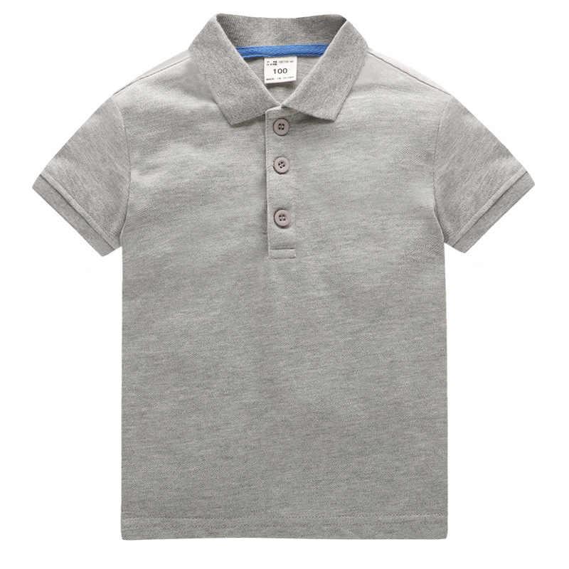 カスタマイズ可能な子供倍襟子供服半袖ポロシャツブック広告シャツプリント Logo61 カスタマイズ可能な