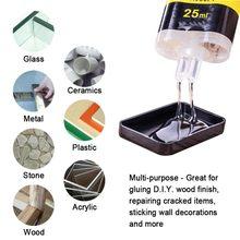 25ml ab cola firme 2 minutos que cura artigos de papelaria cola forte fornecimento doméstico esparadrapo universal duradouro resina epóxi super líquido
