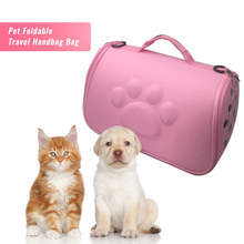 DIDIHOU For dogs cat Folding Pet Carrier Cage Collapsible Puppy Crate Handbag Carrying Bags Pets Supplies Accessories(China)