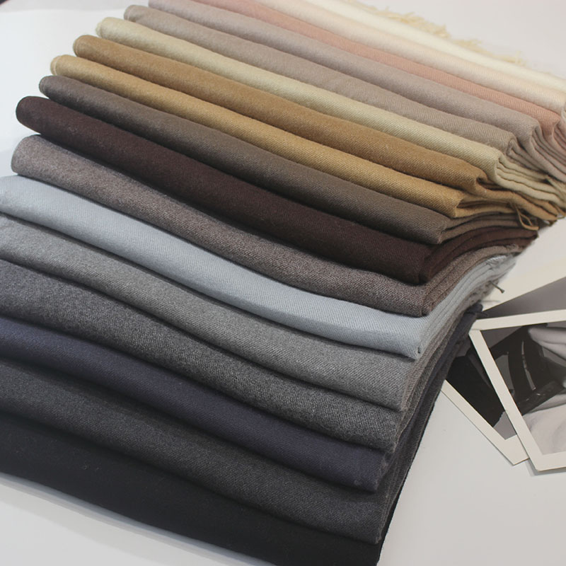 Cashmere Scarves Tassel Long-Scarf Female Shawl Thicker Autumn Winter High-Quality Women
