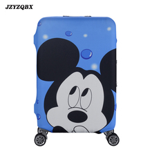 цена на Minnie Mickey Travel Luggage Cover Suitcase Cover Springy Luggage Case Travel Bag Dust Cover Travel Accessories S/M/L/XL 16Color