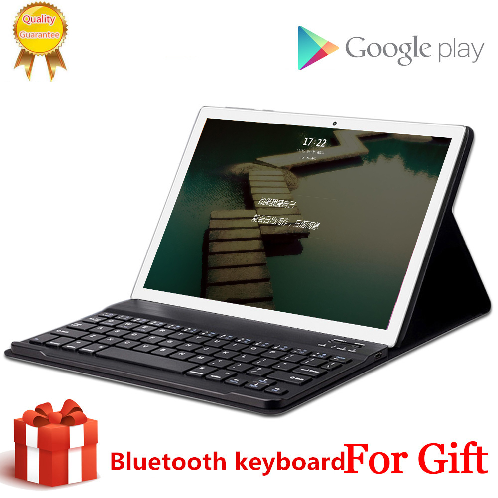 Free Gift  Bluetooth Keyboard MID 2560*1600 Global Wifi Phablet Android 8.0 10.1 Inch Tablet 10 Core 8GB RAM 256GB ROM 4G LTE