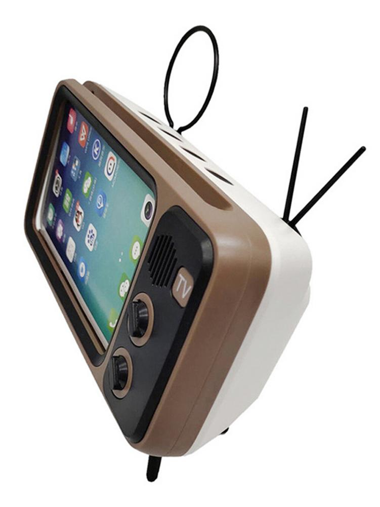 Retro TV Mobile Phone Holder  2
