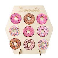 Новый деревянный пончик, настенное украшение для свадебного стола, Декор, сделай сам, Пончик, дисплей, стенка, детский душ, товары для дня рож...