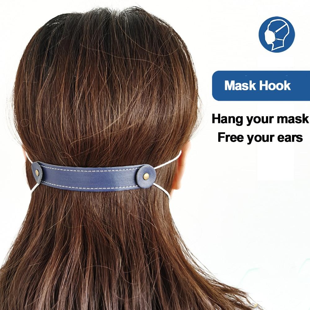 lose enge Masken Verl/ängerungsriemen Hilfsverschluss elastische Maske Extender Artefakt dressplus Kontraktionsseil-Ohren anpassbarer Ohrschutz Stil 1, Beige