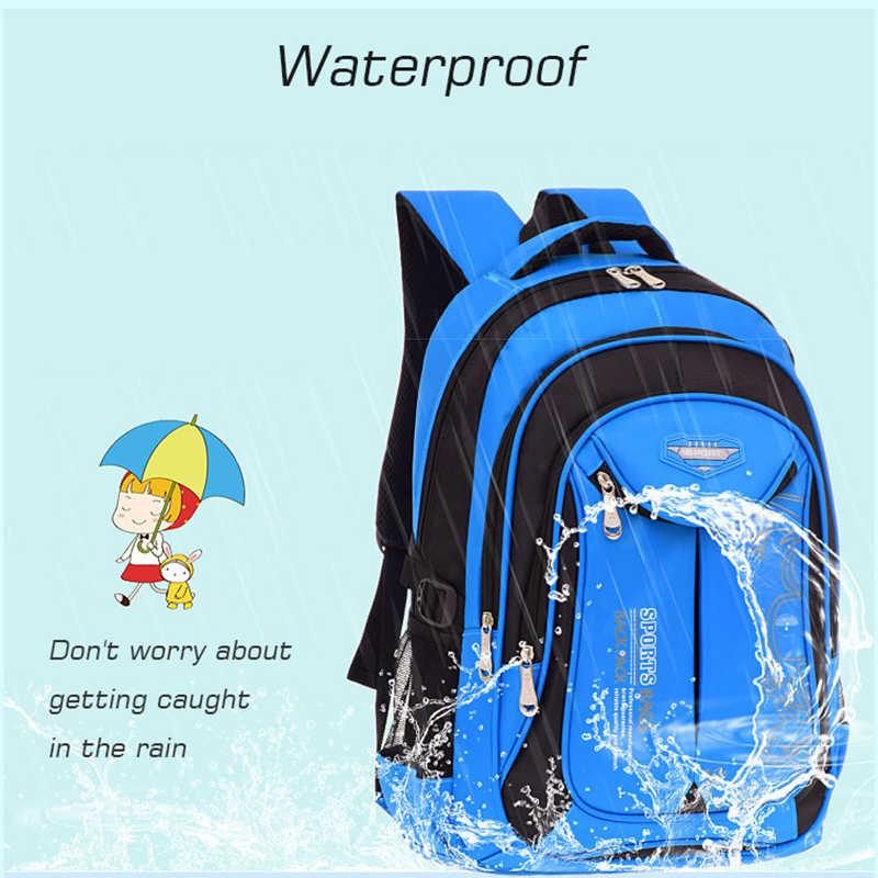 Mochila crossten para crianças, à prova d'água, para jardim de infância, mochila para crianças