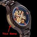 Мужские механические часы с индивидуальным логотипом bobo bird  наручные часы с хронографом  подарок на день рождения  Рождество