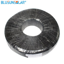 1 Meters/ high performance 4mm2 Solar Cable Red or Black Pv Cable Wire Copper Conductor XLPE Jacket TUV Certifiction