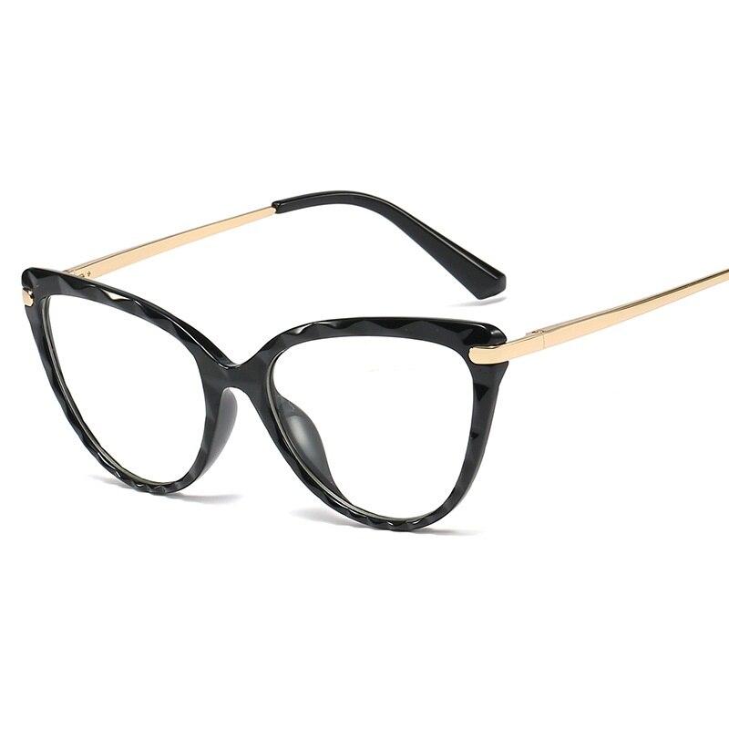 Lonsy пикантные Женские оправы для очков кошачий глаз чтения
