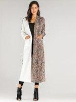 Woman's Feminine Fashion Trench Coat Female Gothic X Long Raincoat Black Casual Swing Winter Fine Textile Wool Fabric Wear Home