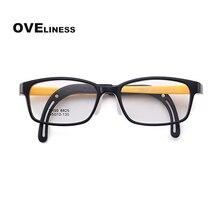 Prescription Eyeglasses Spectacles Optical-Glasses-Frame Soft-Eyewear Transparent Tr90 Myopia