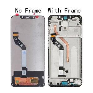 Image 2 - Оригинальный ЖК экран 6,18 дюйма для Xiaomi Pocophone F1, ЖК дисплей для Xiaomi Pocophone F1, дигитайзер сенсорного экрана, Замена + Инструменты