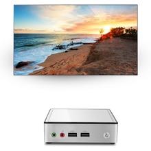 Mini PC for Intel Core I3-4010Y I5-4200Y I7-4610Y Windows 10 Compact Mini Desktop Computer 300M WiFi LAN HDMI TV Box EU Plug