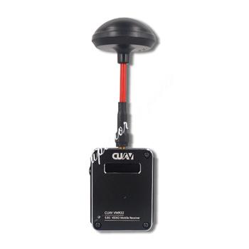 CUAV VMR32 5 8G ręczny bezprzewodowy odbiornik Audio wideo Rx obsługa ekranu tabletu PC VR Glass tanie i dobre opinie zhizicathy CN (pochodzenie) GoPro