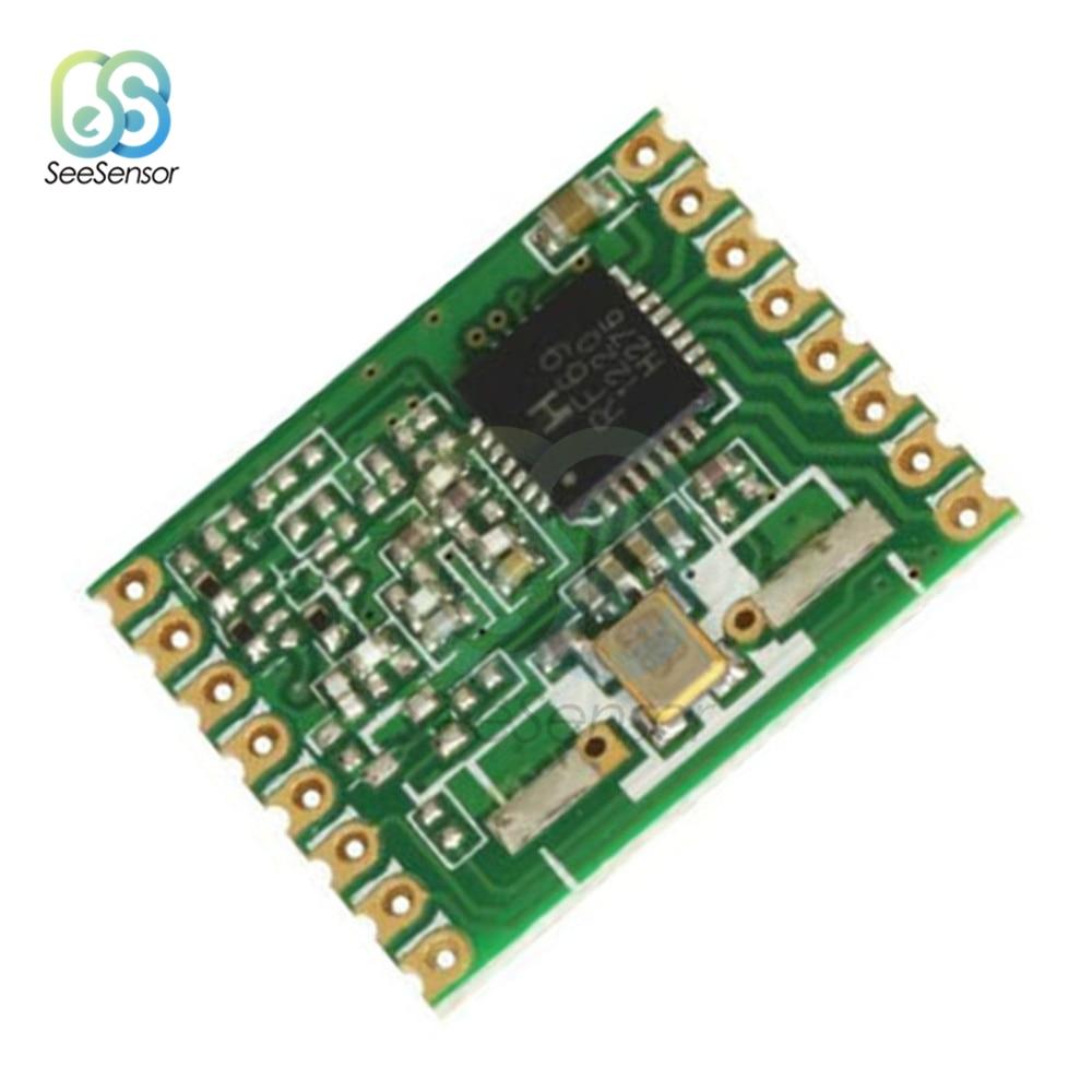 Módulo transceptor RFM69W RFM69, 433MHZ, 868MHZ, 915MHZ, FSK, frecuencia de 13dBm