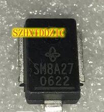 2 pçs/lote SM8A27 DO-218A [SMD]