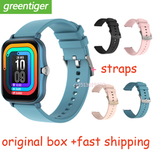 2021 Y20 ساعة ذكية الرجال تدوير زر IP67 Smartwatch 1.7 بوصة HD شاشة الرياضة النساء Smartwatch 24H معدل ضربات القلب VS P8 زائد DTX