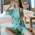Летняя Пижама sinchan для женщин, пижамы, Хлопковая пижама, женская пижама с коротким рукавом, домашняя одежда, пижамы Sinchan