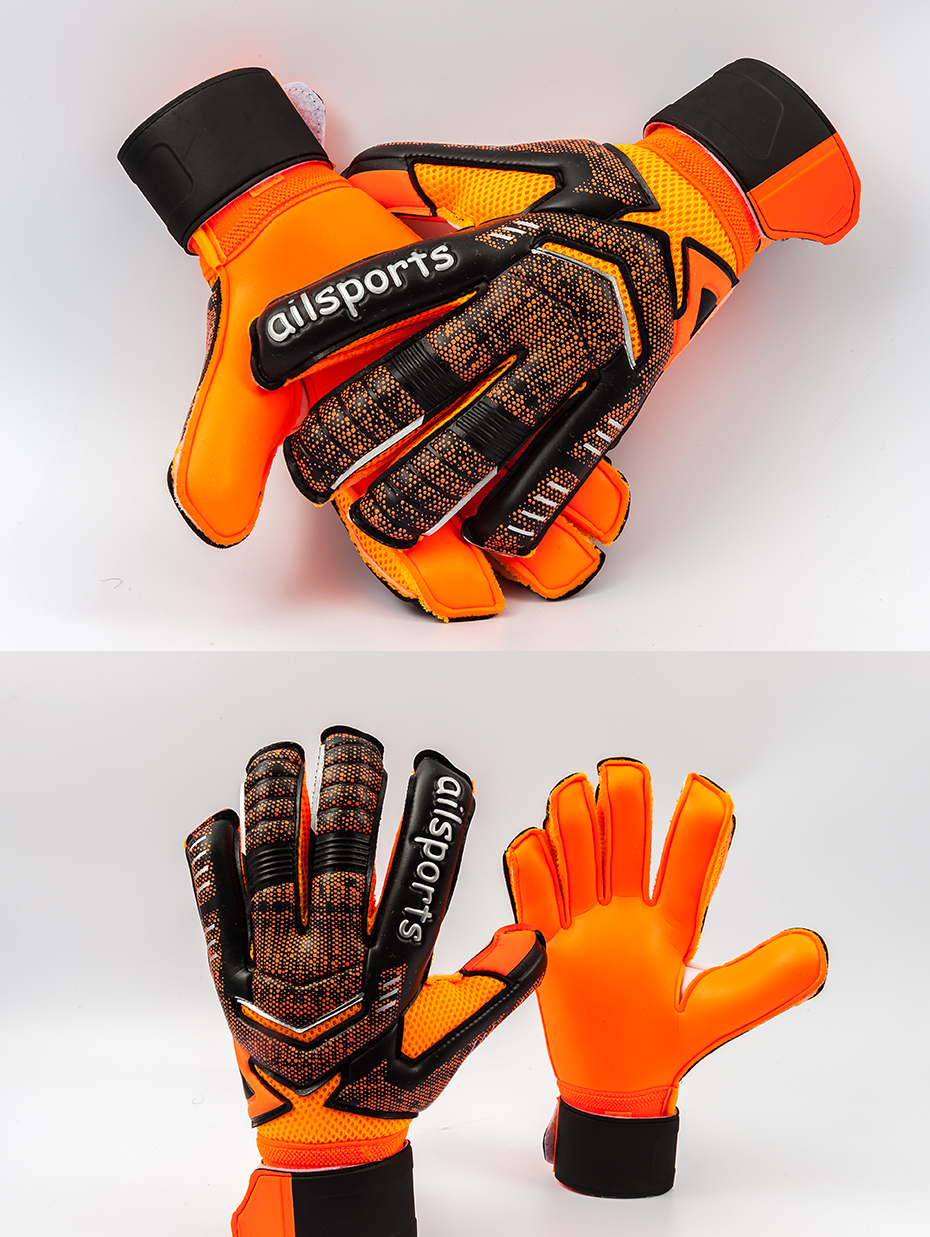Professional Goalkeeper Gloves With Finger Protection 10