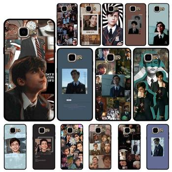 Babaite Aidan Gallagher Number Five Silicone Black Phone Case for Samsung A6 A8 Plus A7 A9 A20 A20S A30 A30S A40 A50 A70 image