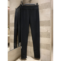 Sexy women's Elastic high waist trousers wear solid color slim feet pants women's Yoga pants sports casual trousers