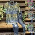 Женская футболка с леопардовым принтом, Повседневная Свободная футболка с круглым вырезом и коротким рукавом, большие размеры, лето 2020