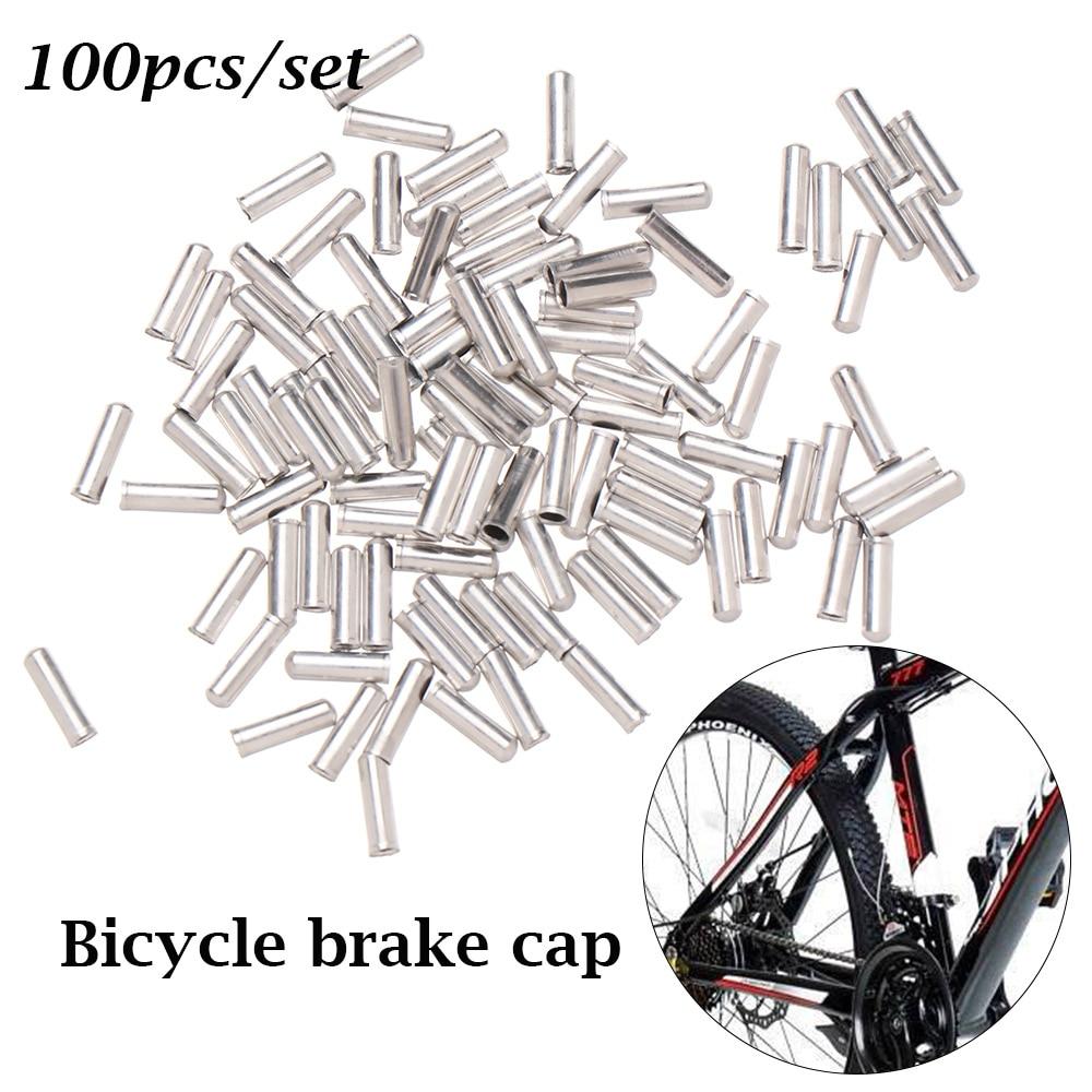 Practical Cable End cap Bike Bicycle Aluminum Derailleur New High quality